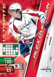 2010/11 Panini Adrenalyn NHL Alex Ovechkin Ultimate