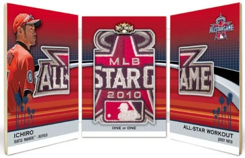 2011 Topps Triple Threads Ichiro All Star Jumbo Sleeve Patch