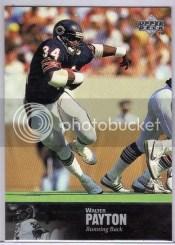 1997 Upper Deck Legends Walter Payton