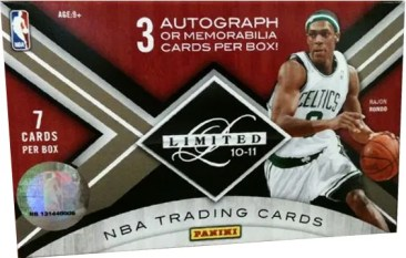 2010/11 Panini Limited Basketball Hobby Box