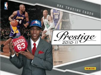 2010/11 Panini Prestige NBA Basketball Hobby Box