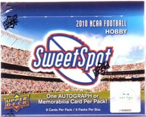 2010 Upper Deck Sweet Spot Football Hobby Box