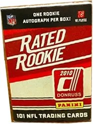 2010 Panini Rated Rookie NFL Box Set