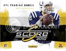 2010 Score Football Retail Blaster