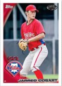 2010 Topps Pro Debut Series 2 Jarred Cosart Base Card