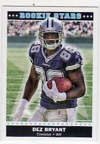 2010 Topps Magic Dez Bryant Rookie Stars RC