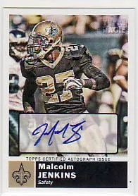 2010 Topps Magic Malcolm Jenkins Autograph