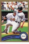 2011 Topps Series 1 Aaron Hill Gold Card