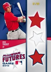 2011 Bowman Futures Game Mike Trout