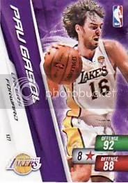 2010-11 Adrenalyn NBA Series 2 Pau Gasol Free Code
