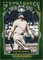 2011 Topps Gypsy Queen Babe Ruth Homerun Heroes