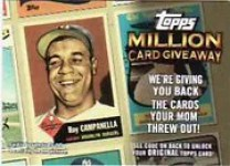 2010 Topps Million Card Give Away