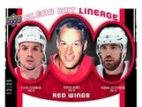 2010/11 Upper Deck Clear Cut Lineage Red Wings