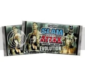 2009 Topps Slam Attax Evolution Pack
