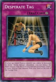 2010 Yu-Gi-Oh Desperate Tag Common Duelist Revolution Card