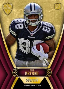 2010 Topps Supreme Dez Bryant Rookie Card #/209