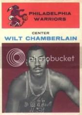 1961/62 Fleer Wilt Chamberlain Rookie RC