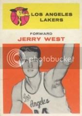 1961/62 Fleer Jerry West Rookie RC