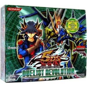 2010 Yu-Gi-Oh Duelist Revolution Booster Box