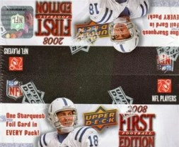 2008 Upper Deck UD First 1st Edition Football Box
