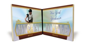 2011 Topps Tribute Mickey Mantle Roll Call Book Card