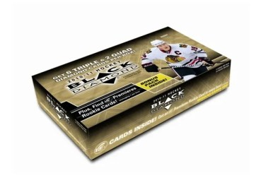 2010-11 UD Black Diamond Hockey Hobby Box