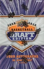2009/10 Upper Deck UD Draft Edition Basketball Hobby Box