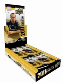 2011 Upper Deck Soccer Box