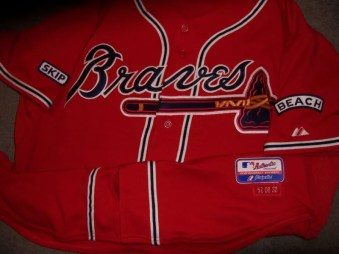 Atlanta Braves Game Worn Jersey