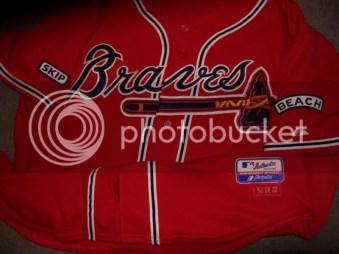 Atlanta Braves Game Worn Jersey