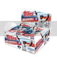 2011 Topps Baseball Series 1 Retail Box