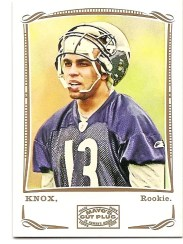 2009 Topps Mayo Johnny Knox Rookie RC
