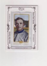 2010 Topps 206 Chrisy Mathewson Silk Parallel Card