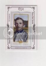 2010 Topps 206 Chrisy Mathewson Silk Parallel Card