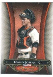 2010 TriStar In Pursuit Tommy Joseph Rookie Card