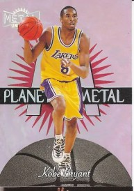 1997/98 Skybox Metal Kobe Bryant Planet Metal