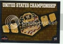 2010 Slam Attax Mayhem Championship Belt U.S.