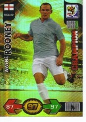 2010 Adrenalyn World Cup Wayne Rooney Champion