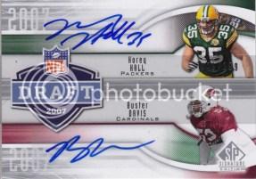 2009 Sp Signature Draft Years 2007 Davis/Hall