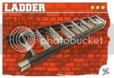 2010 Slam Attax Mayhem Ladder Prop Card