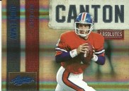 2010 Absolute John Elway Canton Insert