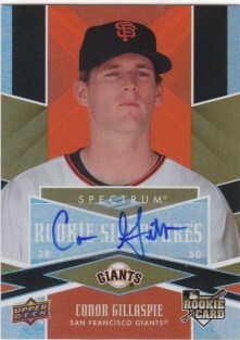 2009 Upper Deck Spectrum Conor Gillaspie