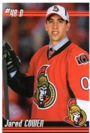 2010/11 Panini NHL Stickers Jared Cowen