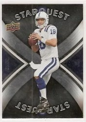 2008 Upper Deck First Edition Peyton Manning Star Quest
