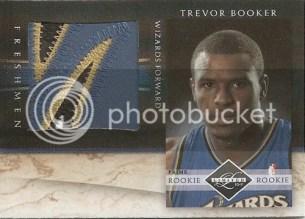 2010/11 Panini Limited Trevor Booker Jumbo Freshmen Prime Jersey Card
