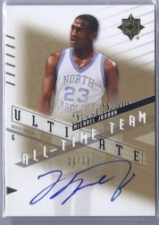 2010/11 Ultimate All-Time Team Michael Jordan Autograph