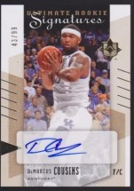 2010/11 DeMarcus Cousins Ultimate Collection Auto Rookie RC