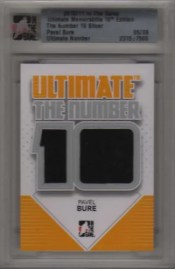 10/11 ITG Ultimate The Number 10 Pavel Bure