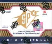 2010 Upper Deck UD Spx Football Box