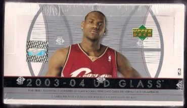 2003/04 Upper Deck UD Glass Basketball Hobby Box